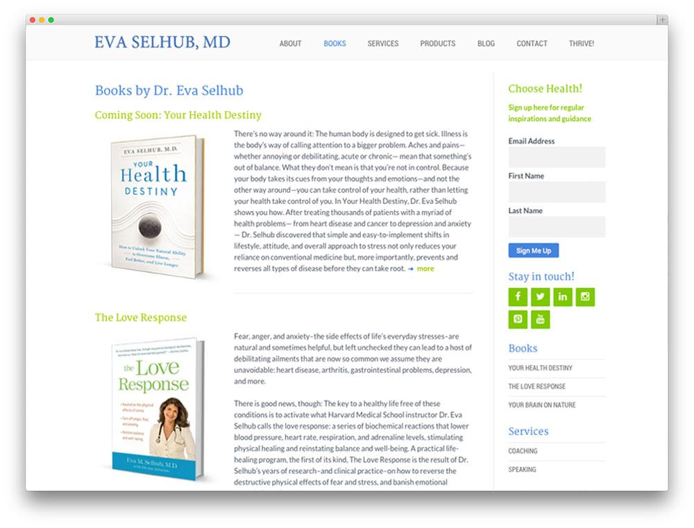 eva books