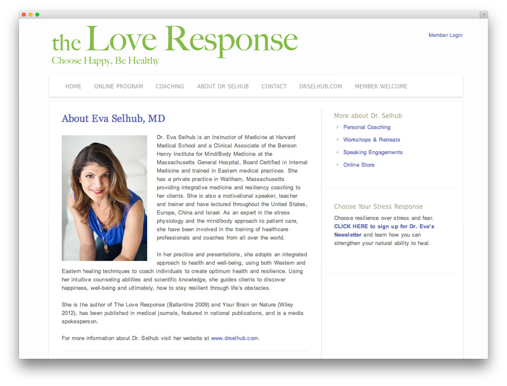 love response about